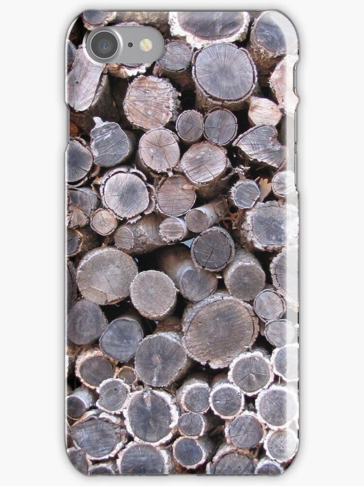 woodstack iphonecase by Louise Green