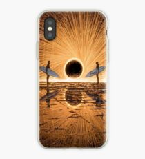 Surfing Fire iPhone Case
