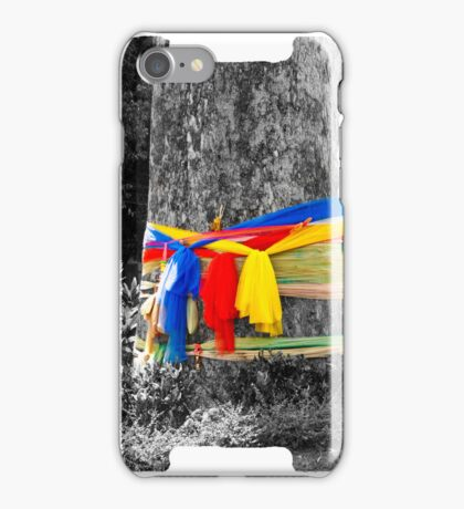 Buddist Prayer Tree iPhone Case/Skin