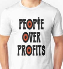 People Over Profits Occupy Protests T-Shirt