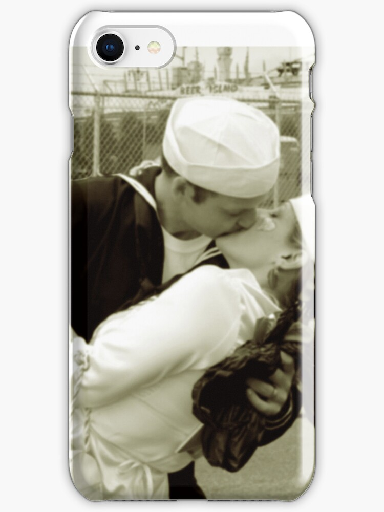 the kiss iphone case by andytechie
