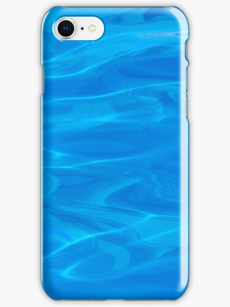 Pool iphone case by Louise Green