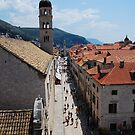 The Streets of Dubrovnik by julie08