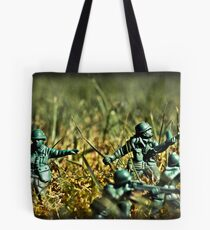 Toy Soldiers Attack! (Lomo image) Tote Bag