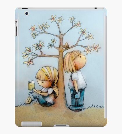 stop and smell the flowers iPad Case/Skin