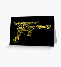 No Match for a Good Blaster - 26 Classic Sci-Fi Guns Greeting Card