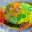 fish-plate by Marianna Tankelevich