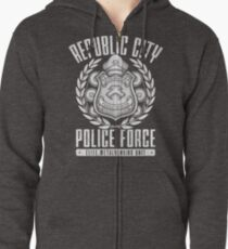 Avatar Republic City Police Force Zipped Hoodie