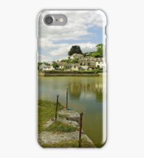 The Harbour With No Boats, Pentewan iPhone Case/Skin