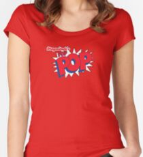 Magnitude's POP-POP! Women's Fitted Scoop T-Shirt