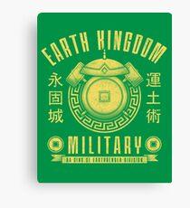 Avatar Earth Kingdom Canvas Print