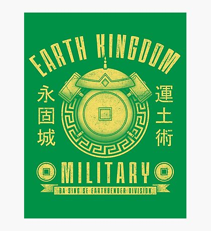 Avatar Earth Kingdom Photographic Print