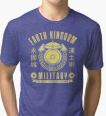 Avatar Earth Kingdom Tri-blend T-Shirt