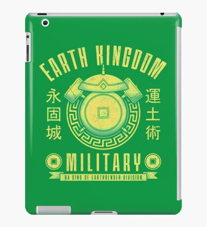 Avatar Earth Kingdom iPad Case/Skin