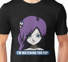 zone tan im waching you fap Unisex T-Shirt