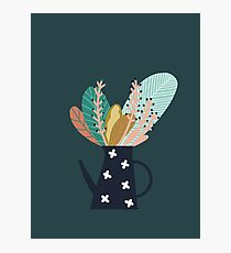 Lámina fotográfica Cafetera botánica