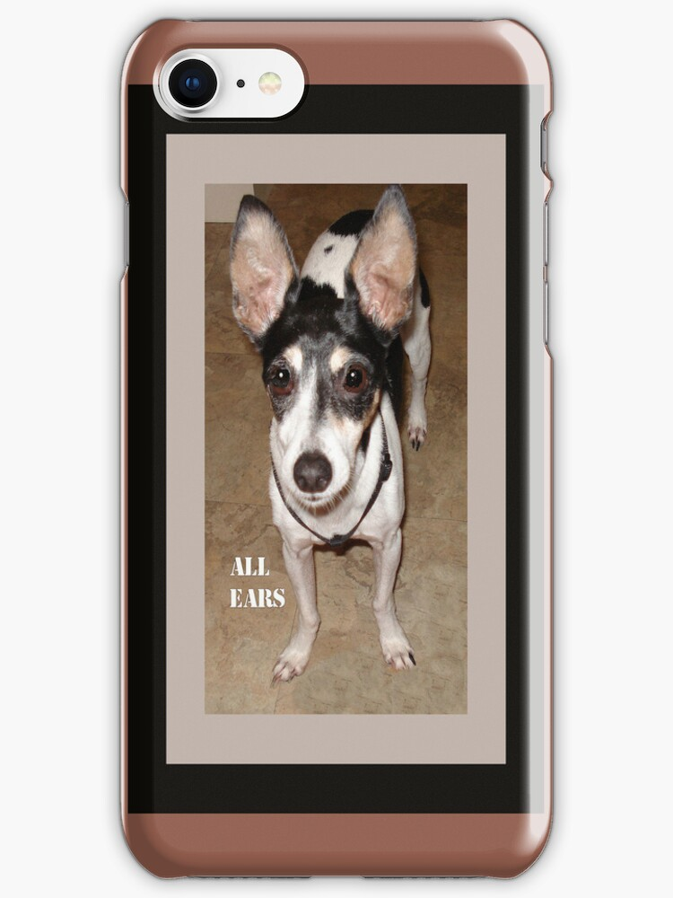 All Ears iPhone Case by Rosalie Scanlon