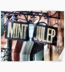 Mint Julep Poster