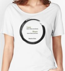 Life Quote About Love Women's Relaxed Fit T-Shirt