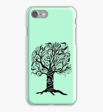 iPhone Tree Doodle iPhone Case/Skin