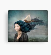 Message from the Sea Metal Print