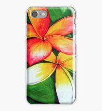 Frangipanis iPhone Case iPhone Case/Skin