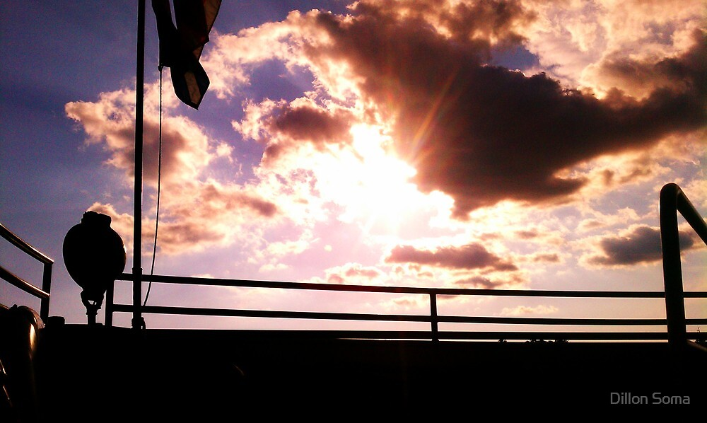 Clouds off the bow of the Clipper Winnebago  by Dillon Soma