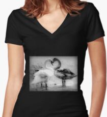 Mother Love Women's Fitted V-Neck T-Shirt