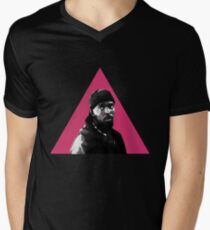 Omar Little: Silence = Death Men's V-Neck T-Shirt