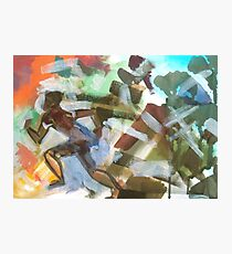 Running One - For Holocaust Memorial Day by Jenny Meehan  Photographic Print
