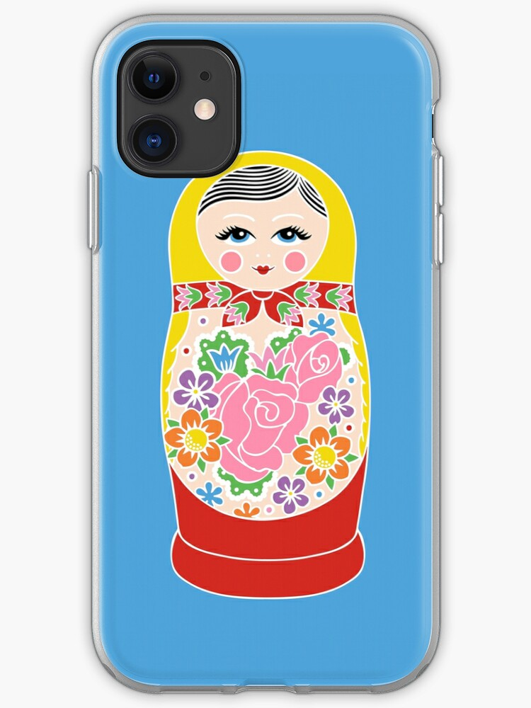 doll matryoshka iPhone 11 case