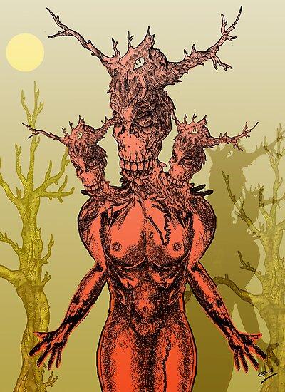 Devilish Creature by Grant Wilson