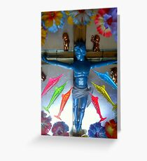 Dead Kitsch Twisted Beauty Greeting Card