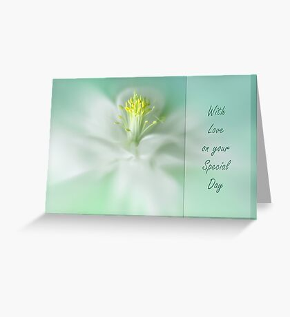 Aquilegia Greeting Card
