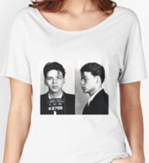 Frank Sinatra Mug Shot Women's Relaxed Fit T-Shirt
