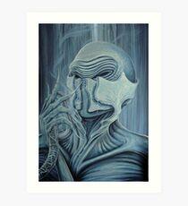 Respire Art Print