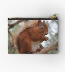 Red squirrel Zipper Pouch