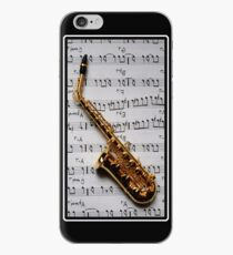 Just One Note Saxophone iPhone Case iPhone Case