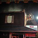 City Cafe Fire Night Shot #3 by © Joe  Beasley IPA