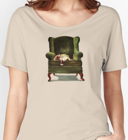Monkey the Cat Relaxed Fit T-Shirt