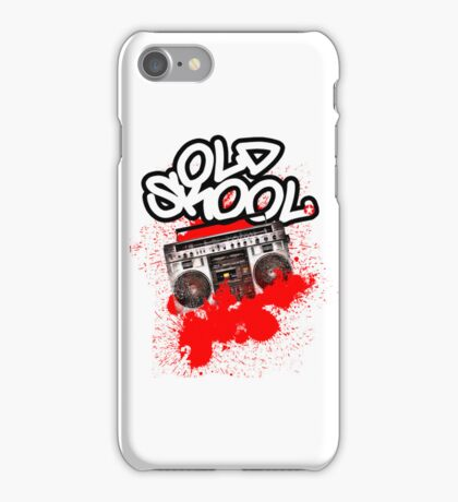 Old Skool... iPhone Case/Skin