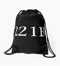 221B - Sherlock Holmes Drawstring Bag