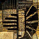 Spiral shadows by Kelvin Hughes