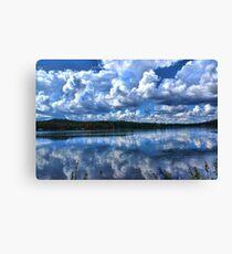 Lake With Sprinkles Canvas Print
