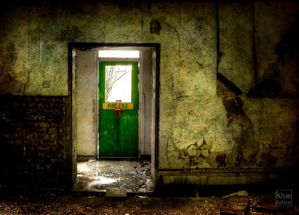 For some, The only way out  by Kelvin Hughes