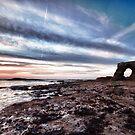 Whitburn Sunrise HDR by Philip  Whittaker
