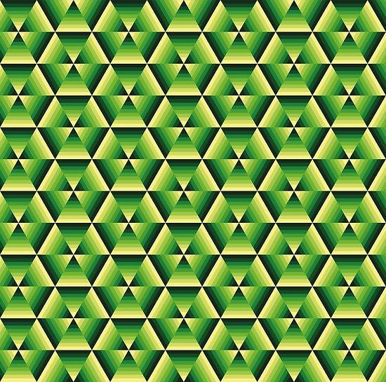 Hexagon farbenfroh von Jahjah