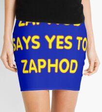 Zaphod says YES to Zaphod Mini Skirt