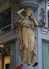 Street Corner Statue. by Lee d'Entremont