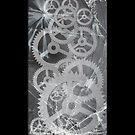 Broken glass & Cogs by icoradesign